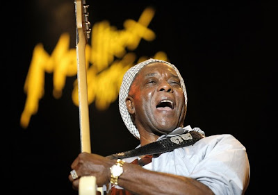 Buddy Guy Guitar Face