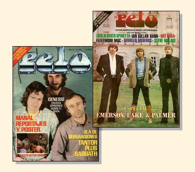 Revista Pelo:  Alma del Rock Nacional