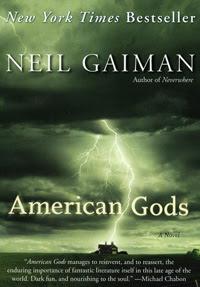 Neil Gaiman American Gods book image