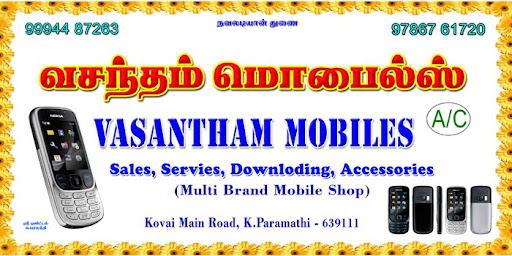 VASANTHAM MIOBILES Multi Brand Mobile shop(A/C)