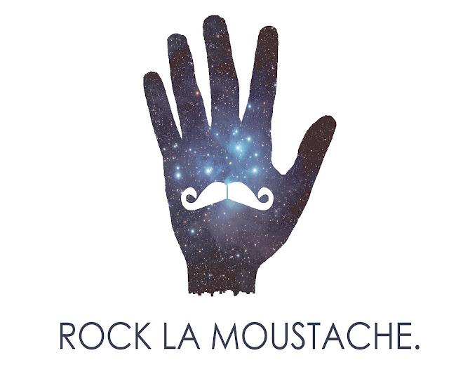 Rock la moustache!
