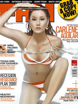 Carlene Aguilar - FHM Philippines January 2009