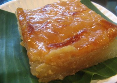 Pinoy Recipe Christmas Recipe Cassava Cake