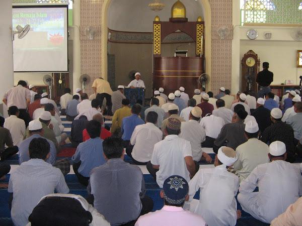Majlis Ilmu di Masjid Al-Muhsinin