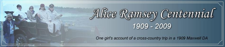 Alice Ramsey Centennial Drive