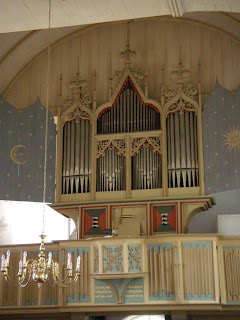 Organ in Rysum (Ost Friesland, Germany)