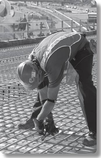 Rebar Ties With Looped Ends : Blip and clik working iron