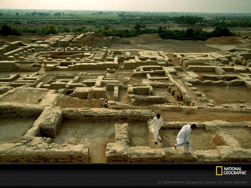 Peninggalan kota mohenjo daro (pakistan selatan)