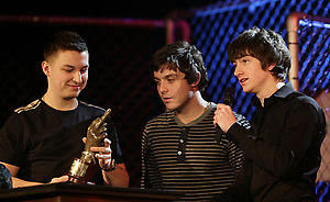 The Arctic Monkeys at the NME Awards - It's fashion, dahling!