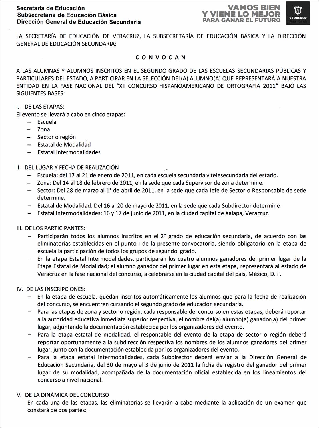 SUPERVISION ESCOLAR ZONA 78: XII CONCURSO HISPANOAMERICANO DE ...