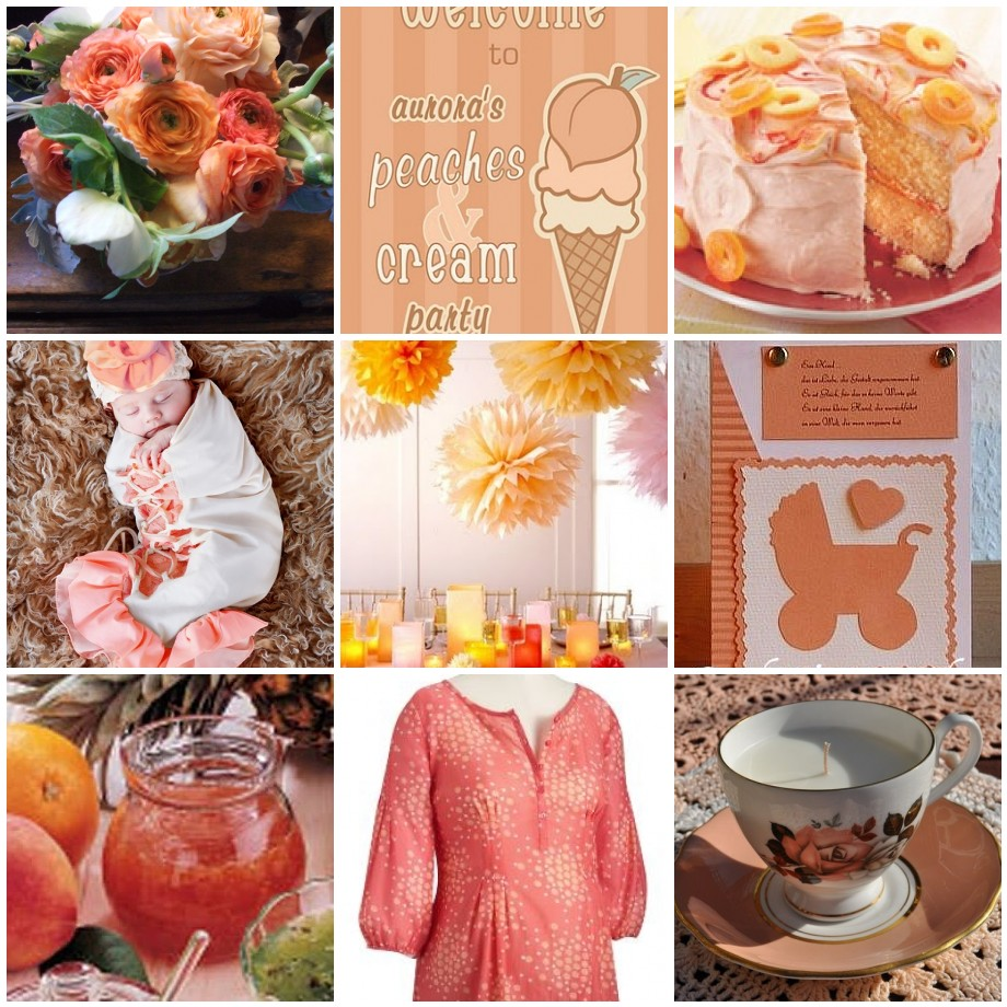 peach pizzazz more peach and pink