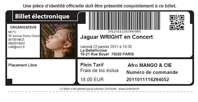Jaguar wright à Paris