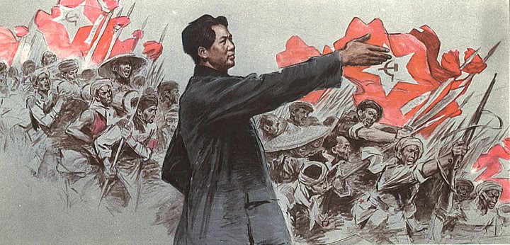mao zedong became the driving force behind extreme alterations in china