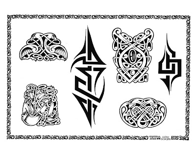 tribal tattoo patterns. Tribal tattoo designs.