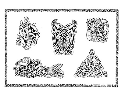 Download Tribal Tattoo #34163613 royalty free stock