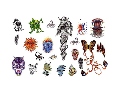 Free tattoo flash designs 10