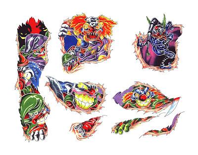 kanji wolf tattoo superior tattoo flash. free rose tattoo designs