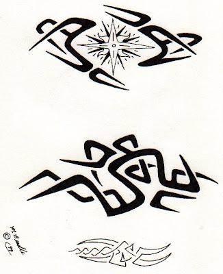 tribal tattoo designs for free. Free star tattoo designs