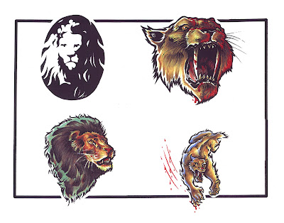 Free Tattoo flash art database containign categories of Tribal designs like