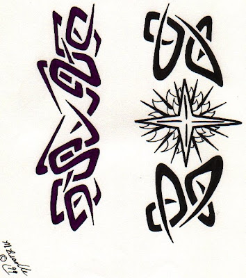 gaelic tattoo designs. gaelic cross tatoo
