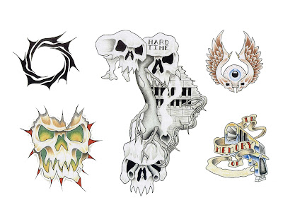 Stencil, Templates & Tattoo Flash The Top and print Free Tattoo Designs