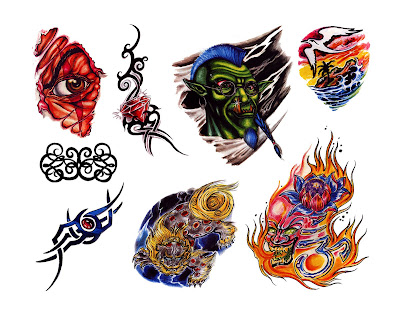 Free tattoo flash designs 85 · Free