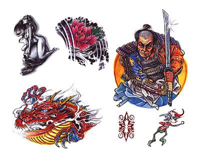 True Tribal Tattoo Body Art Sheets of tattoo flash