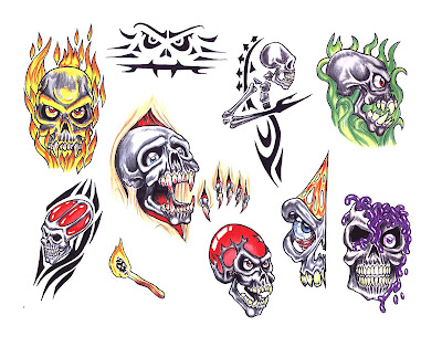 Free tattoo flash designs 103