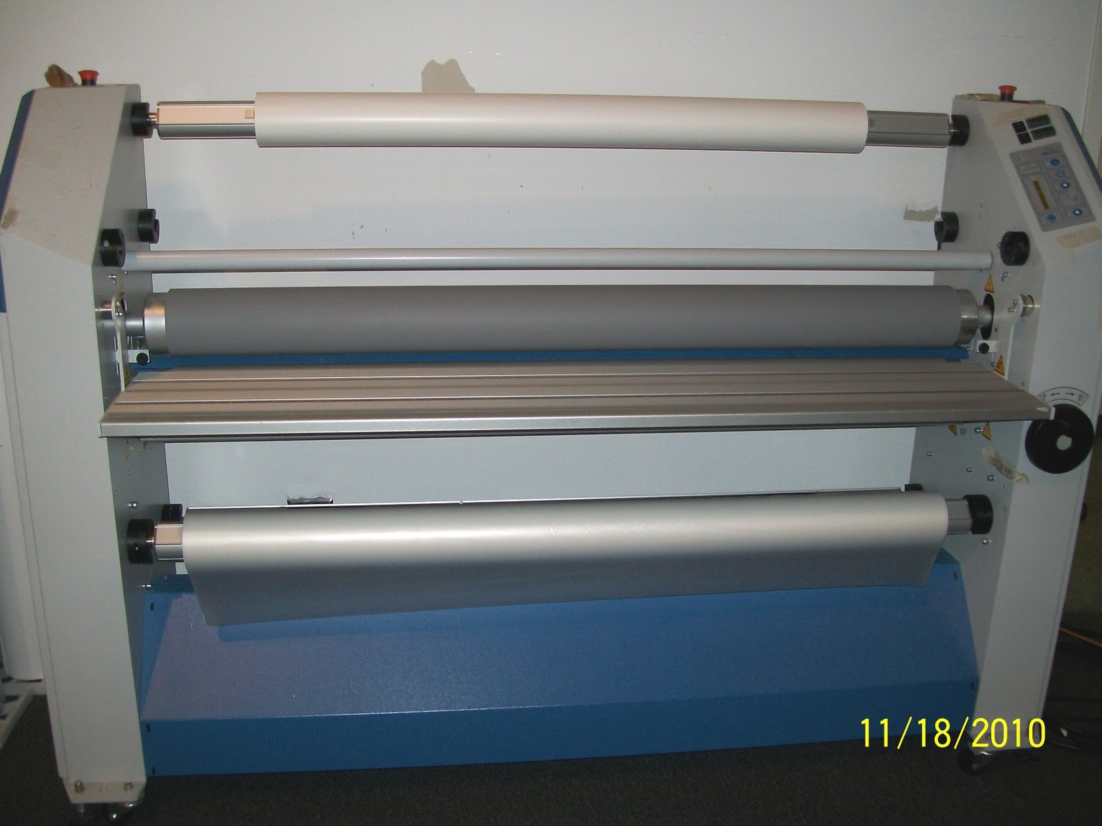 Print shop equipment for sale for Parlour equipment