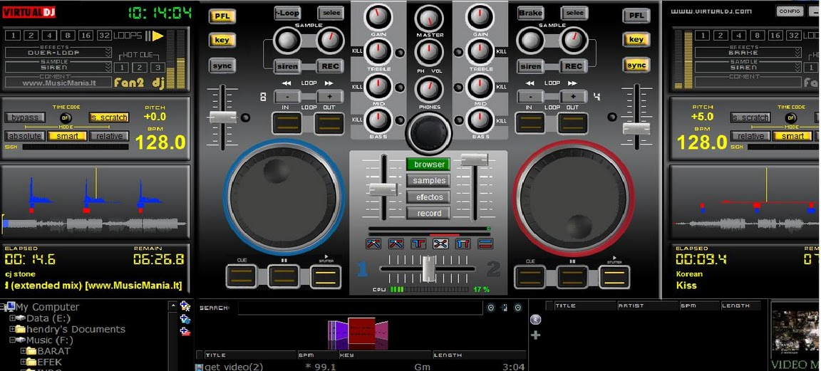 not support for virtual dj 4 3 download here read more virtual dj ...
