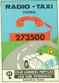 Antiguo teléfono Radio-taxi