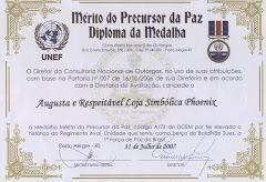 Diploma Precursor da Paz