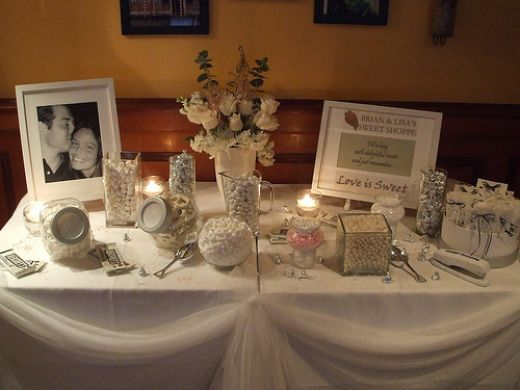 Candy Tables For Weddings Greek Wedding Dresses 50th Wedding