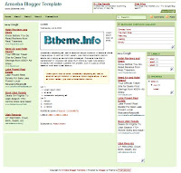 Amoeba Blogger Template