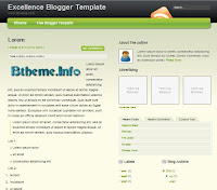 Excellence Blogger Template