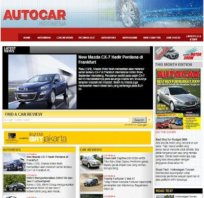 Majalah Otomotif AUTOCAR Versi Online