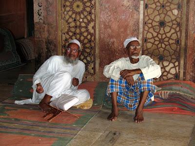 Un descando antes de leer el Corán, Jaipur
