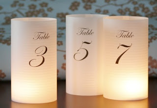 Do it yourself weddings diy table numbers and luminaries your diy luminaries will arrive at your doorstep ready to assemble these elegant table number luminaries are 8 12 tall and measure about 3 14 in solutioingenieria Image collections