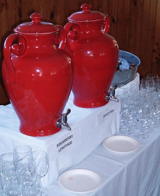 Red Wedding Reception Ideas