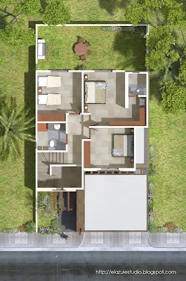 Residencial antara casa santiago plantas arquitectonicas for Plantas arquitectonicas de casas
