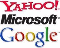Google, Microsoft e Yahoo: as grandes dos negócios na Intrnet
