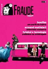 Capa da revista Fraude produzida pelo PET de comunicação da UFBA