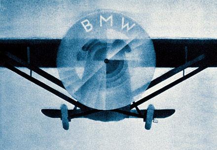 bmw logo plane