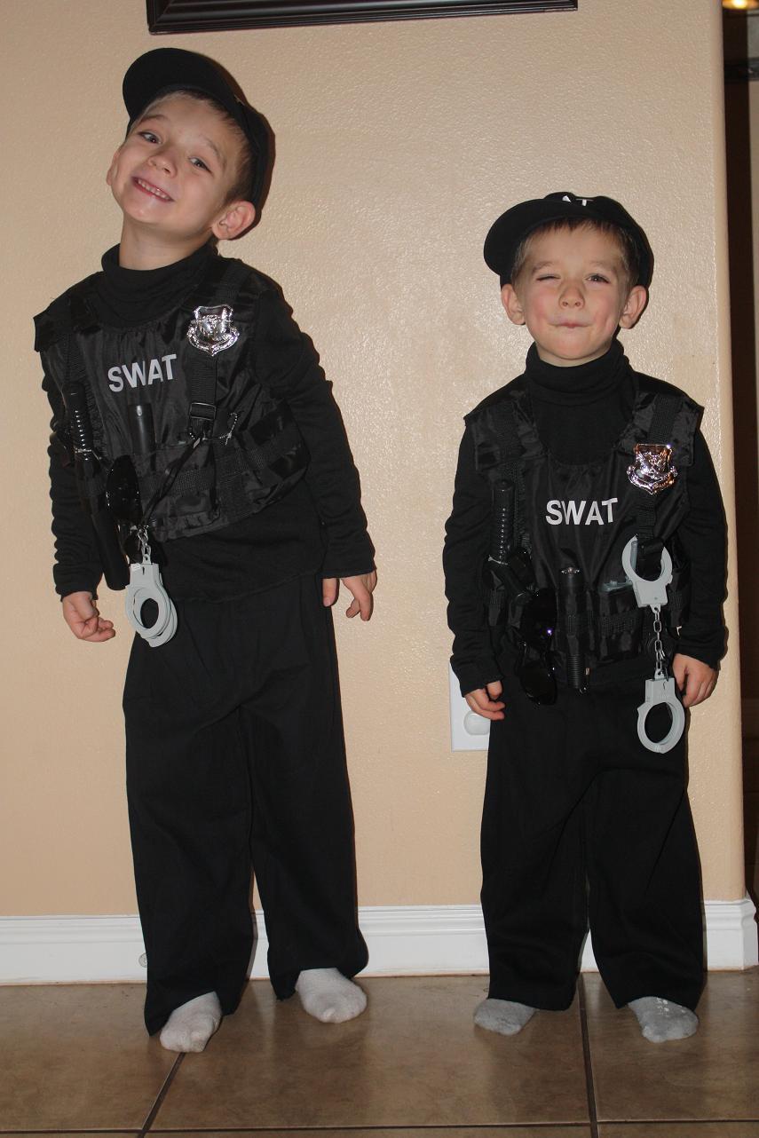 Halloween Costumes Swat Team
