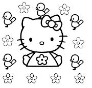 hello kitty para colorear dibujos para colorear de hello kitty