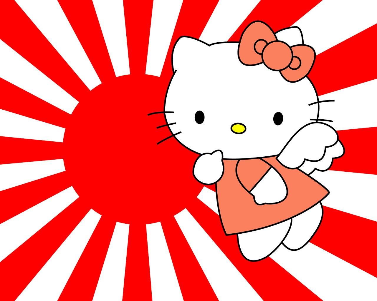 Descargar gratis fondo de pantalla infantil para niños de Hello Kitty ...