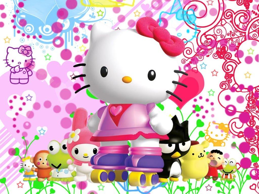 descargar gratis fondo de pantalla para ninos de hello kitty