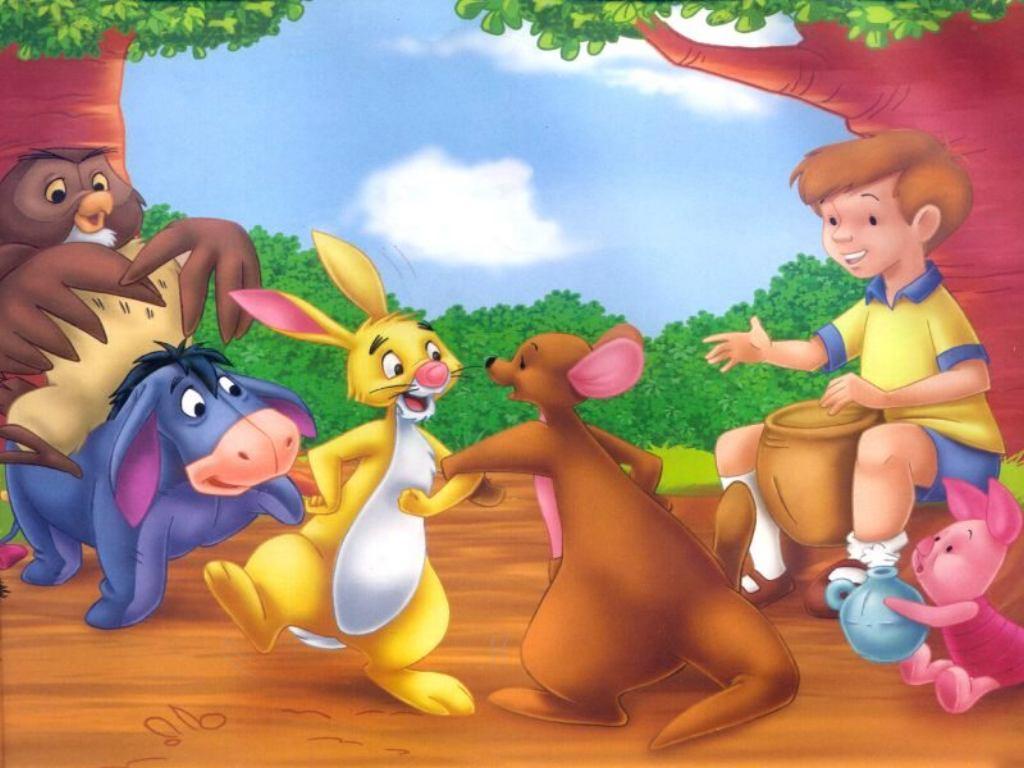 Gratis Fondo De Escritorio De Winnie De Pooh Infantil Y Para Ni  Os