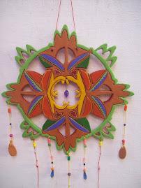 Mandala de ceramica