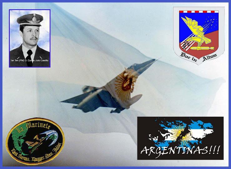 Siempre estaremos Defendiendo nuestra PATRIA bandera avion castillo islas